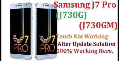Firmware Fix touch J730GM