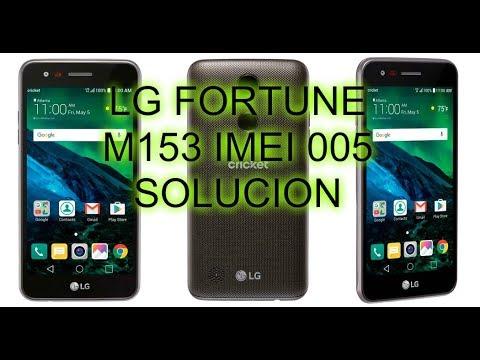 Reparar imei Lg M153 z3x