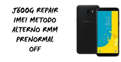 Repair imei J600G bit 4