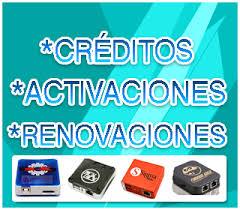 créditos y activaciones Box