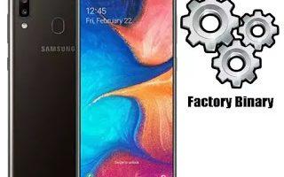 Combination file Samsung A205U