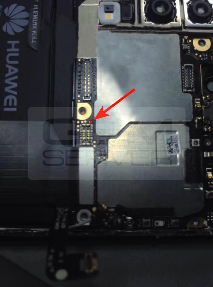 Repair imei huawei EML-L09 via testpoint