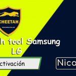Activación Cheetah Tool LG+Samsung Módulos